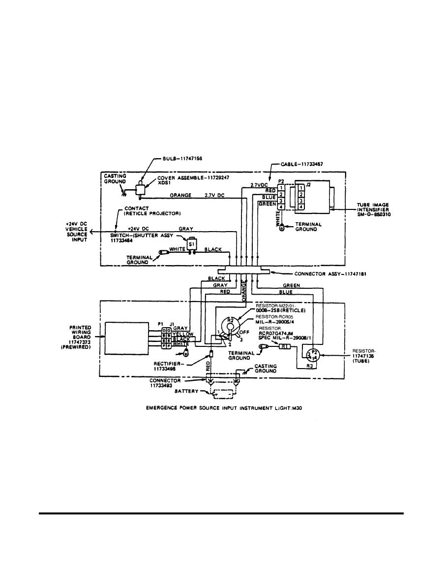 M36e1 Electrical Block Diagram Tm 9 1240 380 34